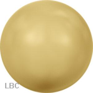 SP001-296 - Crystal Gold Swarovski Pearl