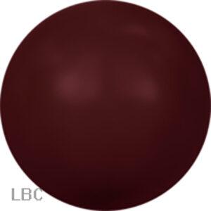 SP001-538 - Crystal Bordeaux  Swarovski Pearl