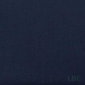 2000B08 - Navy - Plain Cotton Fabric