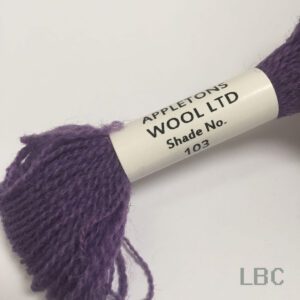 APC103 - Purple-Shade 3 - Appleton's Crewel Wool