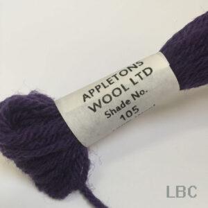 APT105 - Purple-Shade 5 - Appleton's Tapestry Wool