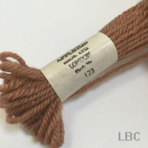 APT123 - Terra Cotta-Shade 3 - Appleton's Tapestry Wool