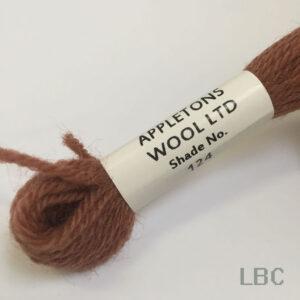 APT124 - Terra Cotta-Shade 4 - Appleton's Tapestry Wool