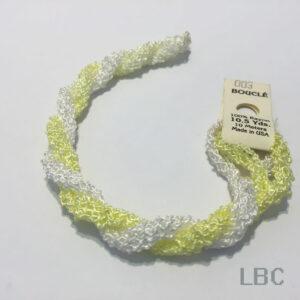 EDB003 - Light Yellow & White  - Edmar Boucle
