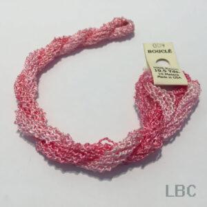 EDB004 - Pale to Light Pink  - Edmar Boucle