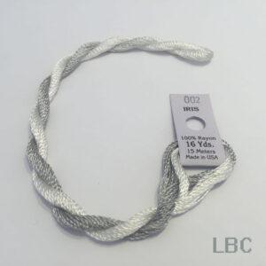 EDI002 - Light Grey & White - Edmar Iris