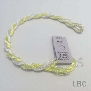 EDI003 - Light Yellow & White - Edmar Iris