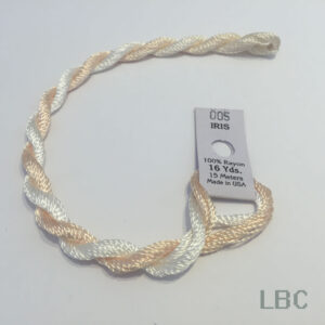 EDI005 - Light Peach & White - Edmar Iris