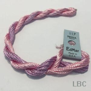EDN017 - Pale Pink & Light Plum - Edmar Nova