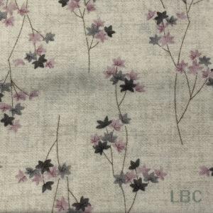 FLW1691 - Serinity - Maple Leaf - Patterned Cotton Fabric