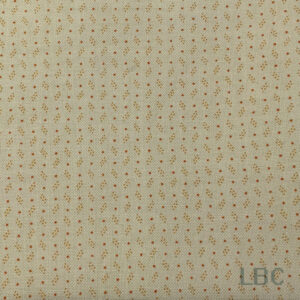 FLW4919 - Tangerine Dots - Patterned Cotton Fabric