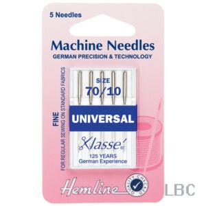 H100.70 - Hemline Machine Needle - Universal Size 70