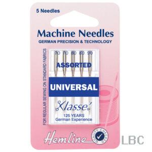 H100.99 - Hemline Machine Needle - Universal Standard Assorted