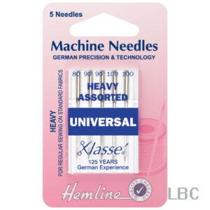 H100.992 - Hemline Machine Needle - Universal Heavy Assorted