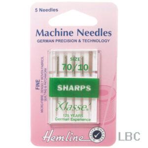 H105.70 - Hemline Machine Needle - Sharps Size 70