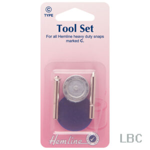 H406 - Hemline Snaps Tool Set - Heavy Duty