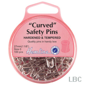 H418.0 - Safety Pins - Curved #0