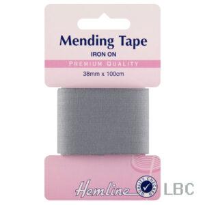 H698.MGREY - Iron-on Tape - Mid Grey