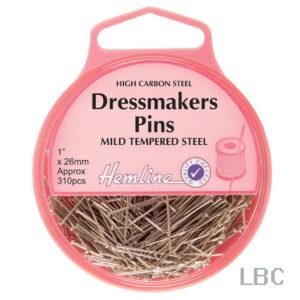 H700 - Hemline 26mm Dressmaker Pins