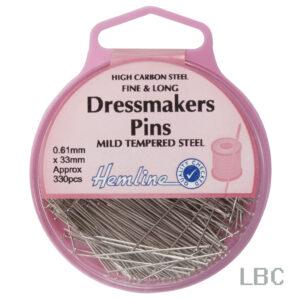 H701 - Hemline 30mm Long Dressmaker Pins