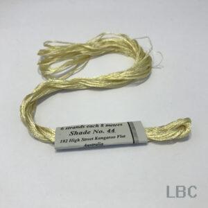RAS044 - Tangier Sand - Rajamahal Art Silk