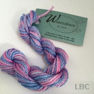 WC005 - Sky Blue Pink - Caron's Watercolours