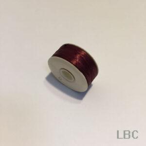 """BTN05 - Burgundy Nymo, Size """"D"""" Beading Thread"""