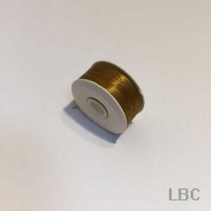 "BTN07 - Gold Nymo, Size ""D"" Beading Thread"