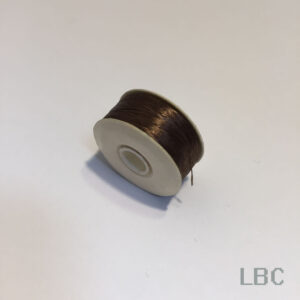 "BTN09 - Brown Nymo, Size ""D"" Beading Thread"