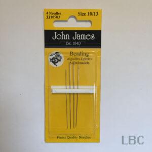 JJ10503 - Size 10/13 Beading Needles - John James