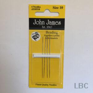 JJ10510 - Size 10 Beading Needles - John James