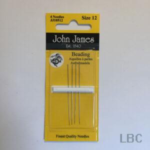 JJ10512 - Size 12 Beading Needles - John James