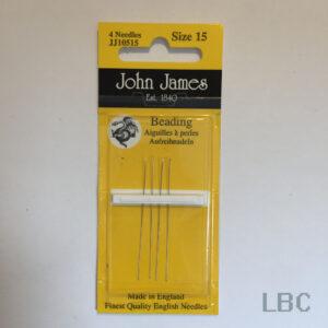 JJ10515 - Size 15 Beading Needles - John James