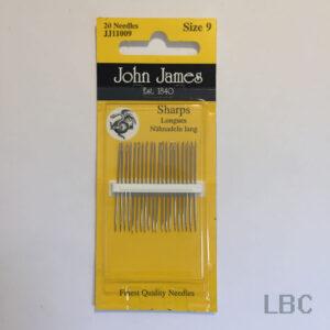 JJ11009 - Size 9 Sharps Needles - John James