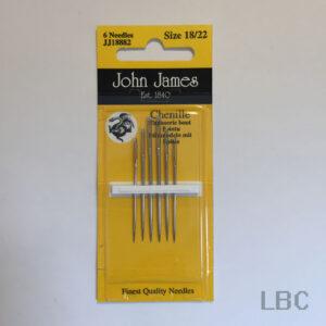 JJ18882 - Size 18/22 Chenille Needles - John James