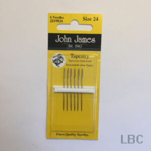 JJ19824 - Size 24 Tapestry Needles - John James