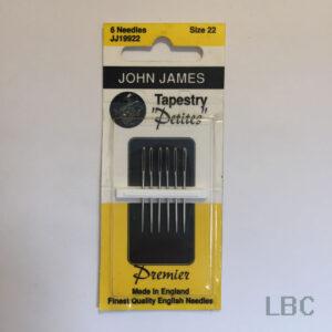 JJ19922 - Size 22 Petite Tapestry Needles - John James