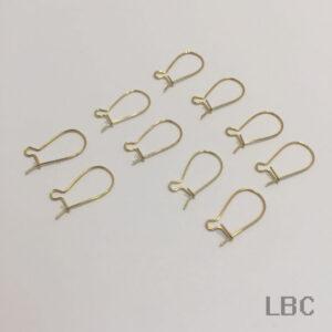 E-11g - Hook Wire & Guard Ear-hook - Gold