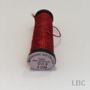 B08_0003 - Kreinik Metallic Fine Braid #8
