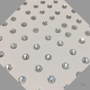 HF-001 - Crystal - Hot Fix Swarovski Flat Back Stone