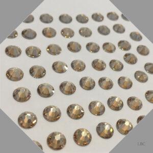 HF-001GSHA - Crystal Golden Shadow - Hot Fix Swarovski Flat Back Stone