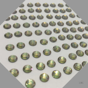 HF-001LUMG - Crystal Luminous Green - Hot Fix Swarovski Flat Back Stone