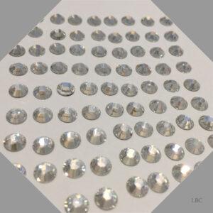 HF-001MOL - Crystal Moonlight - Hot Fix Swarovski Flat Back Stone