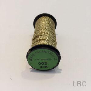 "R18_0002 - Kreinik Metallic 1/8"" Ribbon"