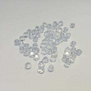 SWR001 - Crystal - Swarovski Round Facetted