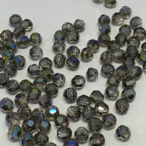 SWR001IRIG - Crystal Iridescent Green - Swarovski Round Facetted