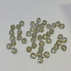 SWR001LUMG - Crystal Luminous Green - Swarovski Round Facetted
