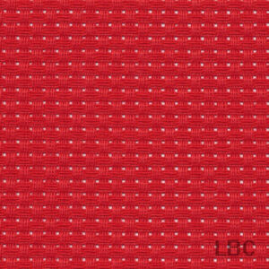 3712_954 - Bright Red - 6 Count Herta Cloth by Zweigart