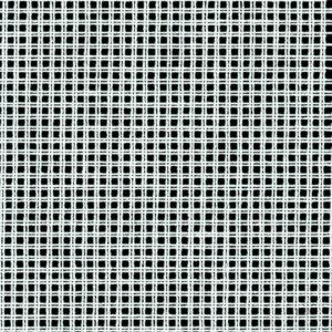 500_40 - White - 10 Count Stramin Canvas by Zweigart