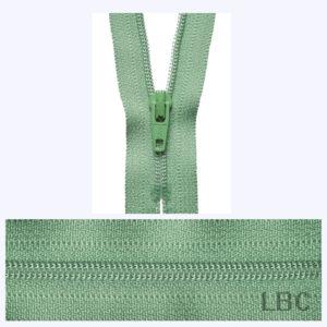 18cm Sage - Dress & Skirt Nylon Zip - Y418-100  - by YKK